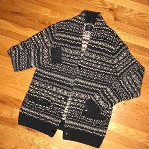 Abercrombie VINTAGE Wool Blend Cardigan